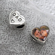 Ashes Memorial Photo Charm