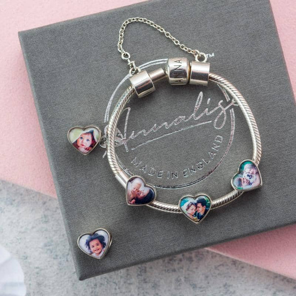 Ashes Memorial Photo Charm | Ashes Charms - Annalise Jewellery