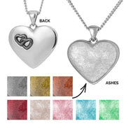 Love Heart Ashes Pendant
