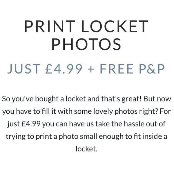 TINY PHOTO PRINTING | Photo Locket - Annalise Jewellery