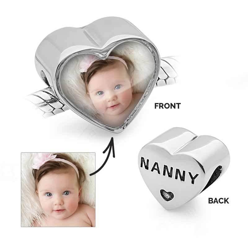 Nanny Photo Charm | Photo Charms - Annalise Jewellery