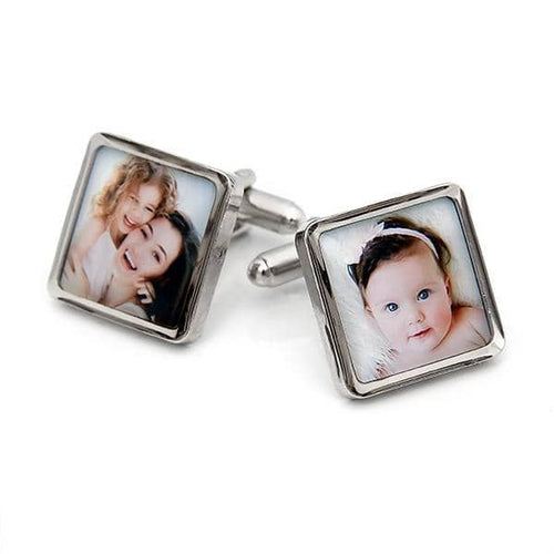 Plated Photo Cufflinks