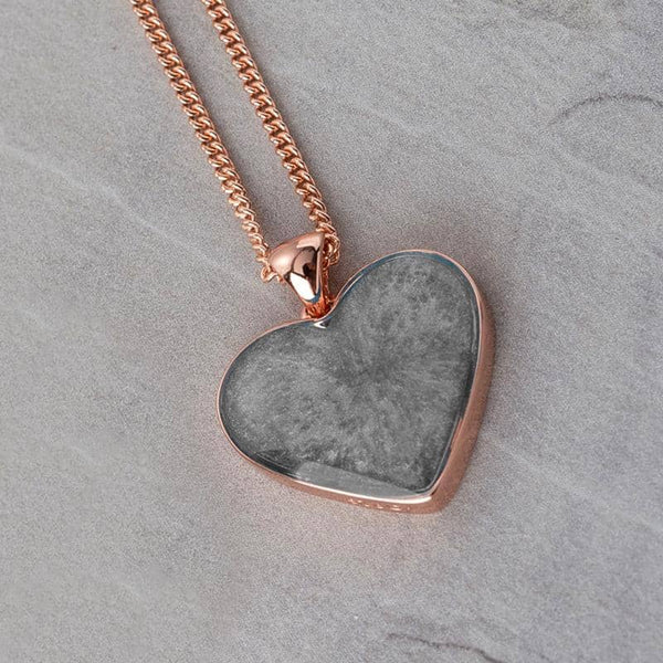Rose Photo Ashes Pendant | Ashes Pendant - Annalise Jewellery
