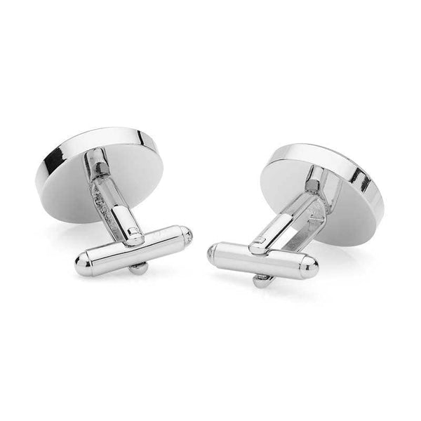 Ashes Memorial Cufflinks (Round) | Ashes Cufflinks - Annalise Jewellery