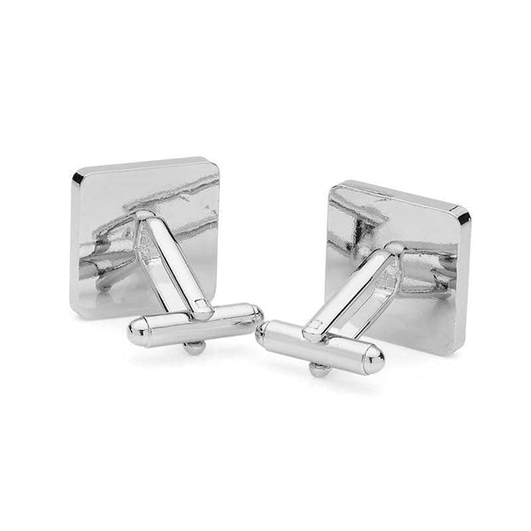 Ashes Memorial Cufflinks (Square) | Ashes Cufflinks - Annalise Jewellery