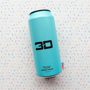 3D ENERGY - BLUE BERRY