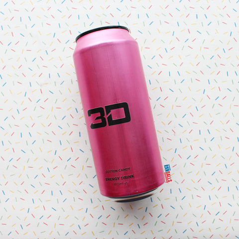 3D ENERGY - PINK COTTON CANDY