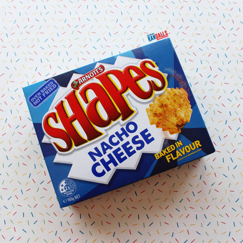 ARNOTTS SHAPES - NACHO CHEESE (AUSTRALIA)