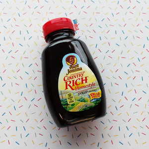 AUNT JEMIMA COUNTRY RICH HOMESTYLE SYRUP