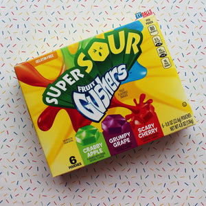BETTY CROCKER SOUR FRUIT GUSHERS