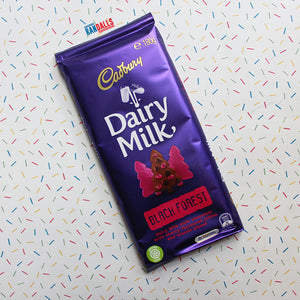 CADBURY DAIRY MILK BLACK FOREST BAR LARGE