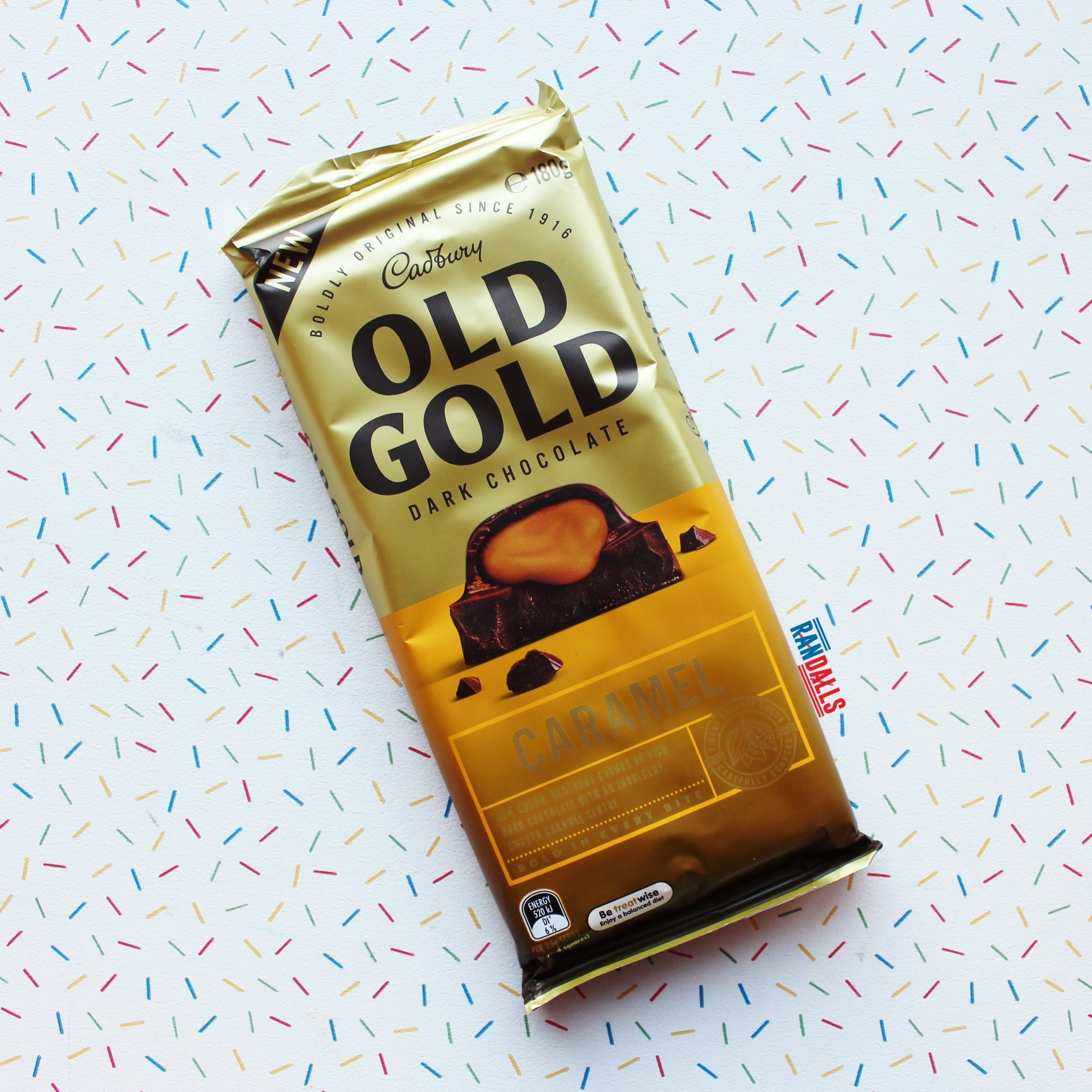 CADBURY OLD GOLD CARAMEL LARGE (AUSTRALIA)