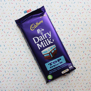 CADBURY DAIRY MILK TOP DECK BAR LARGE (AUSTRALIA)
