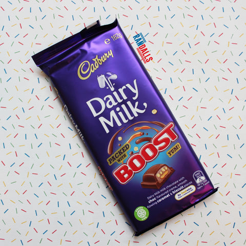 CADBURY DAIRY MILK BOOST BAR (AUSTRALIA) [BB DATE 18/02/21]