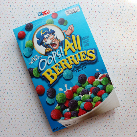 CAP N CRUNCH OOPS ALL BERRIES CEREAL