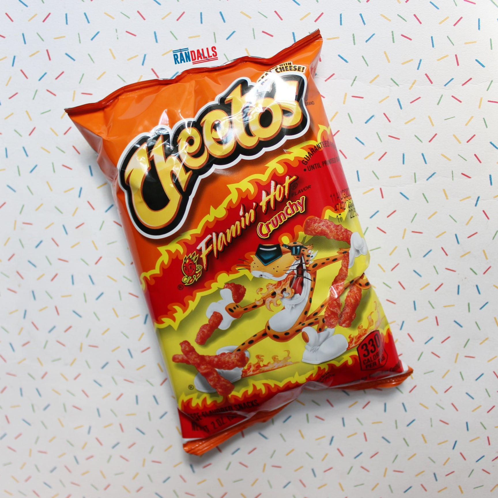 CHEETOS CRUNCHY FLAMIN' HOT [BB DATE 26/01/21]