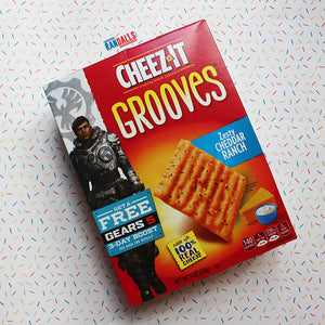 CHEEZ-ITS GROOVES ZESTY CHEDDAR RANCH BOX