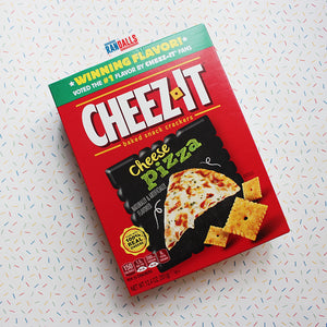 CHEEZ-ITS CHEESE PIZZA BOX