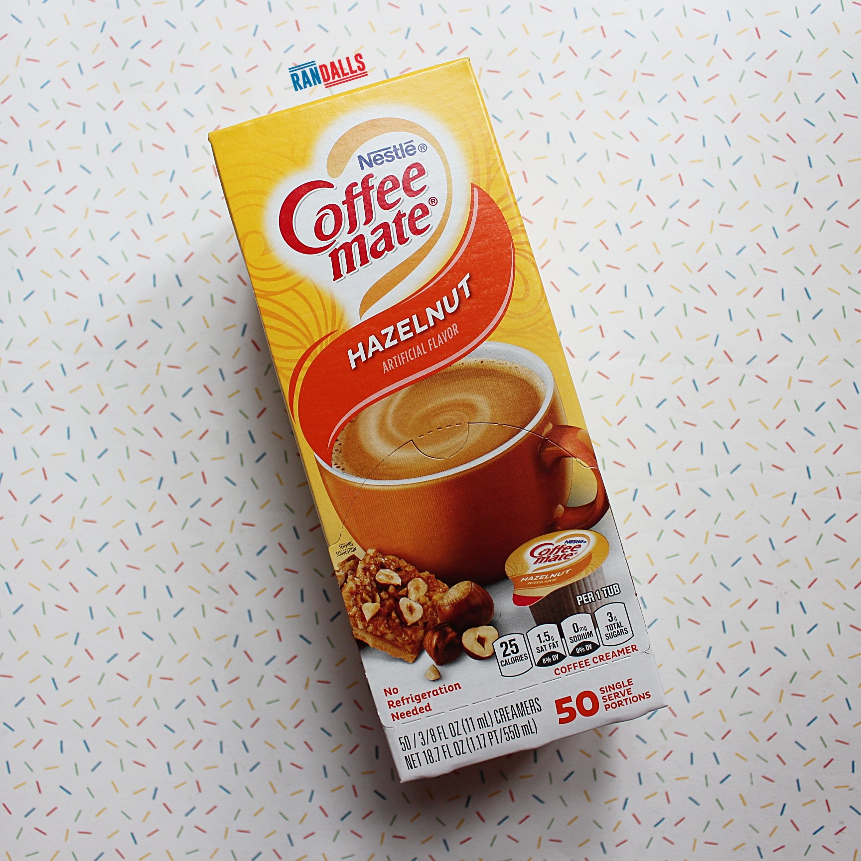 COFFEE MATE HAZELNUT (UHT MILK) X 50 BOX