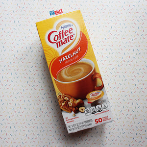 COFFEE MATE HAZELNUT (UHT MILK) X 50 BOX [BB DATE 02/21]