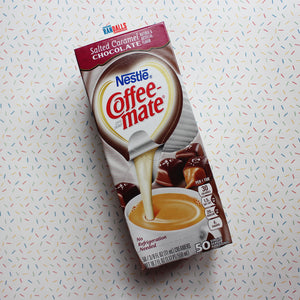 COFFEE MATE SALTED CARAMEL CHOCOLATE (UHT MILK) X 50 BOX [BB DATE 02/21]