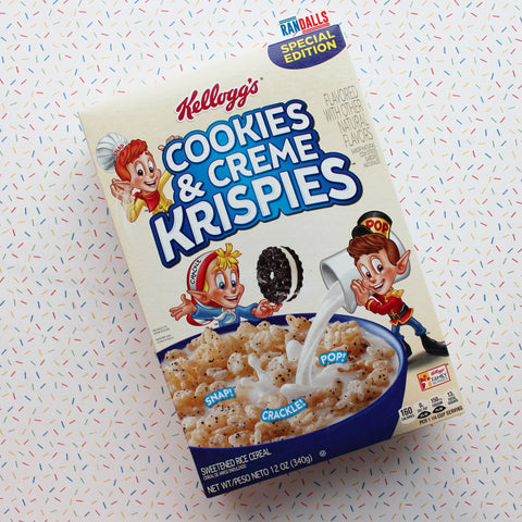COOKIES & CREME KRISPIES CEREAL