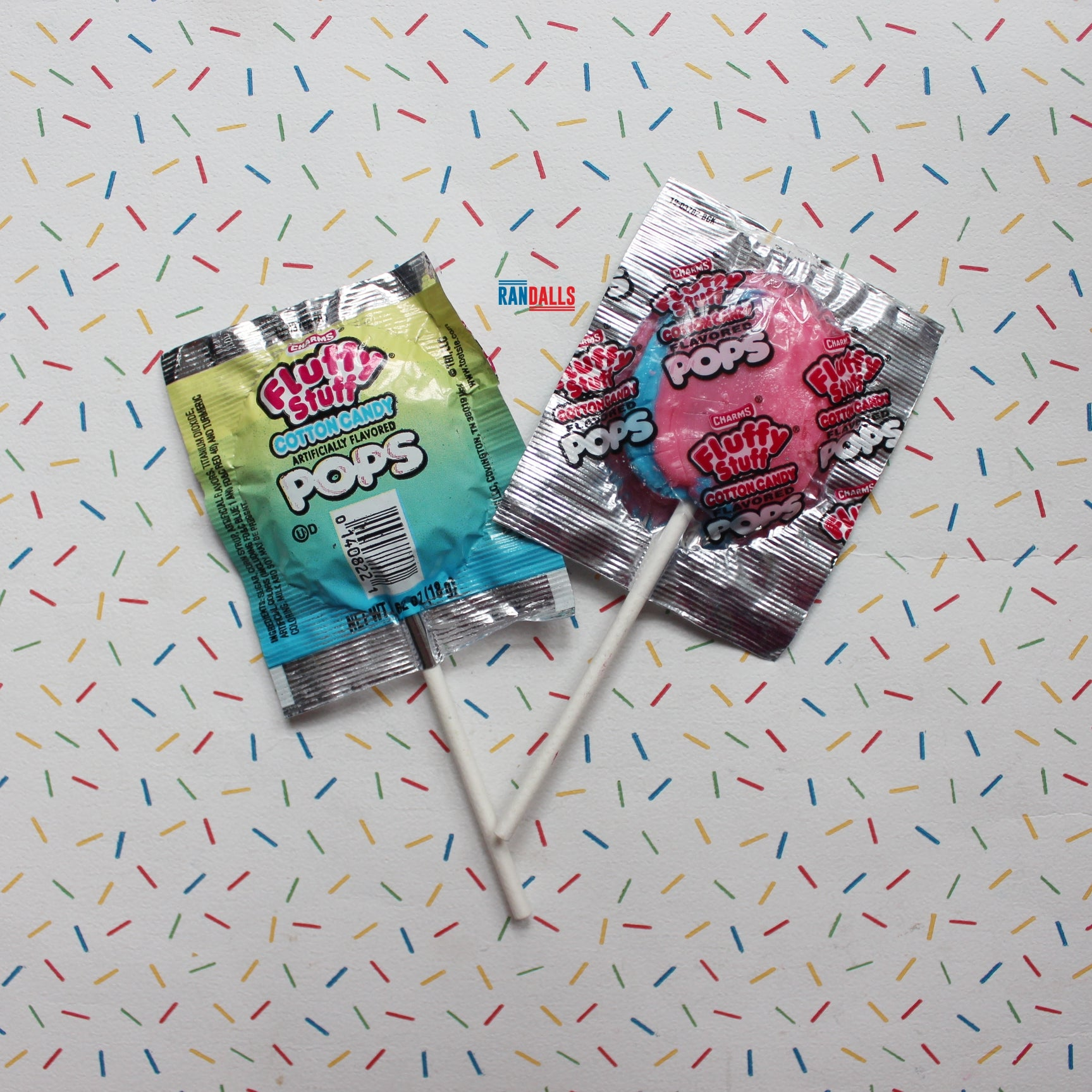 CHARMS COTTON CANDY LOLLIPOP