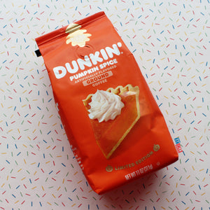 DUNKIN DONUTS GROUND COFFEE PUMPKIN SPICE