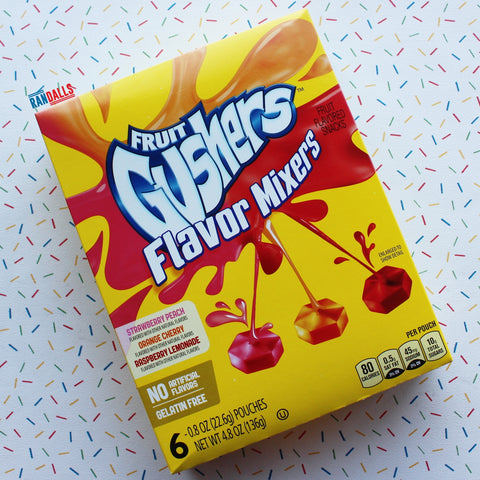 BETTY CROCKER FRUIT GUSHERS FLAVOUR MIXERS [BB DATE 25/02/20]