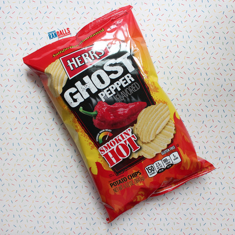 HERRS GHOST PEPPER CRISPS