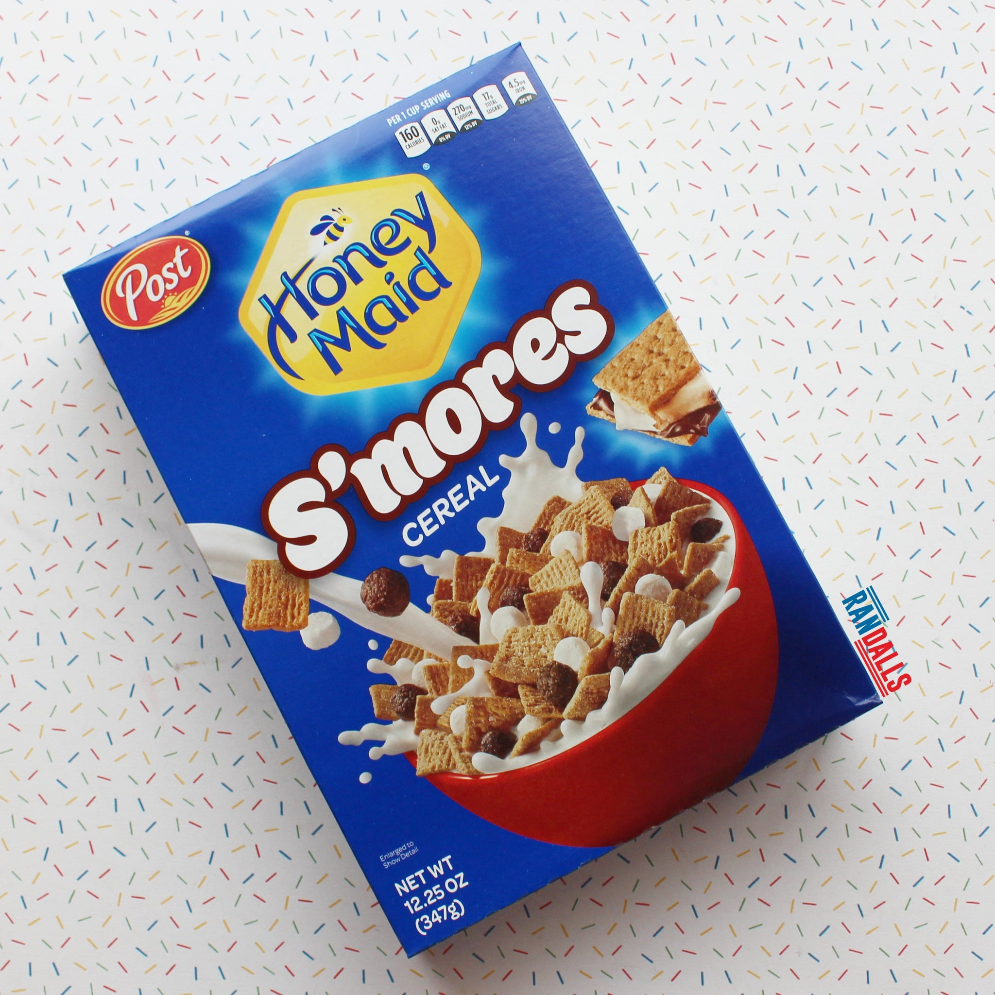 HONEY MAID SMORES CEREAL