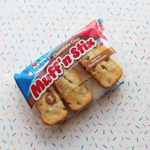 HOSTESS CHOCOLATE CHIP MUFF'N STIX
