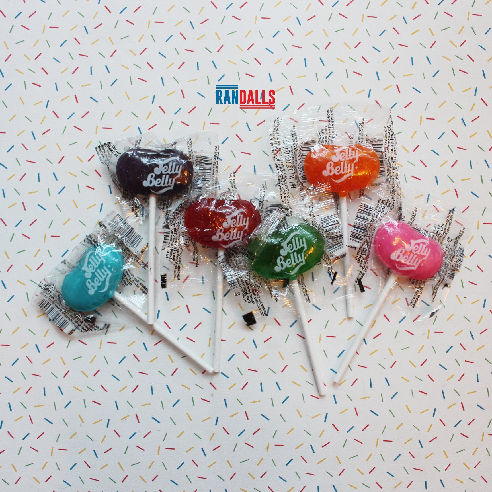 JELLY BELLY LOLLIPOPS