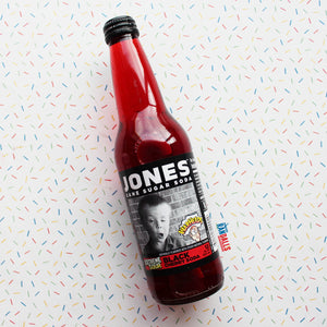 JONES SODA - WARHEADS BLACK CHERRY
