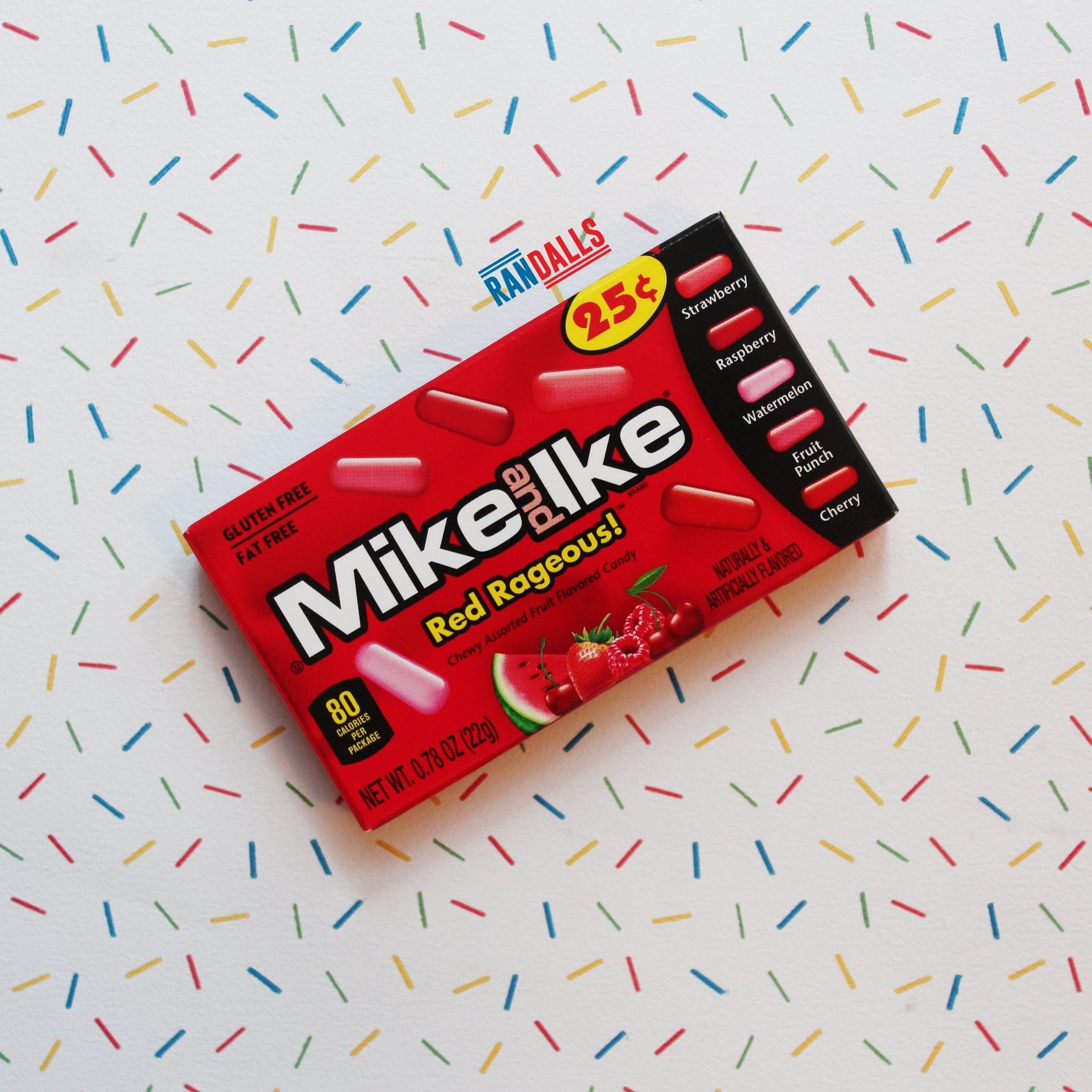 MIKE & IKE RED RAGEOUS MINI