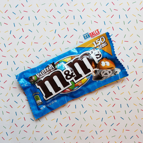 M&MS MILK CHOCOLATE PRETZEL
