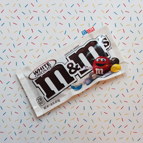 M&MS WHITE CHOCOLATE