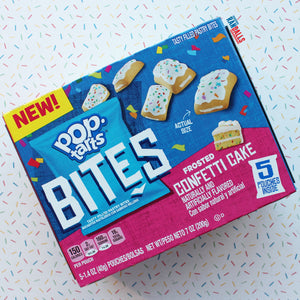 POP TARTS FROSTED CONFETTI CAKE BITES - BOX OF 5