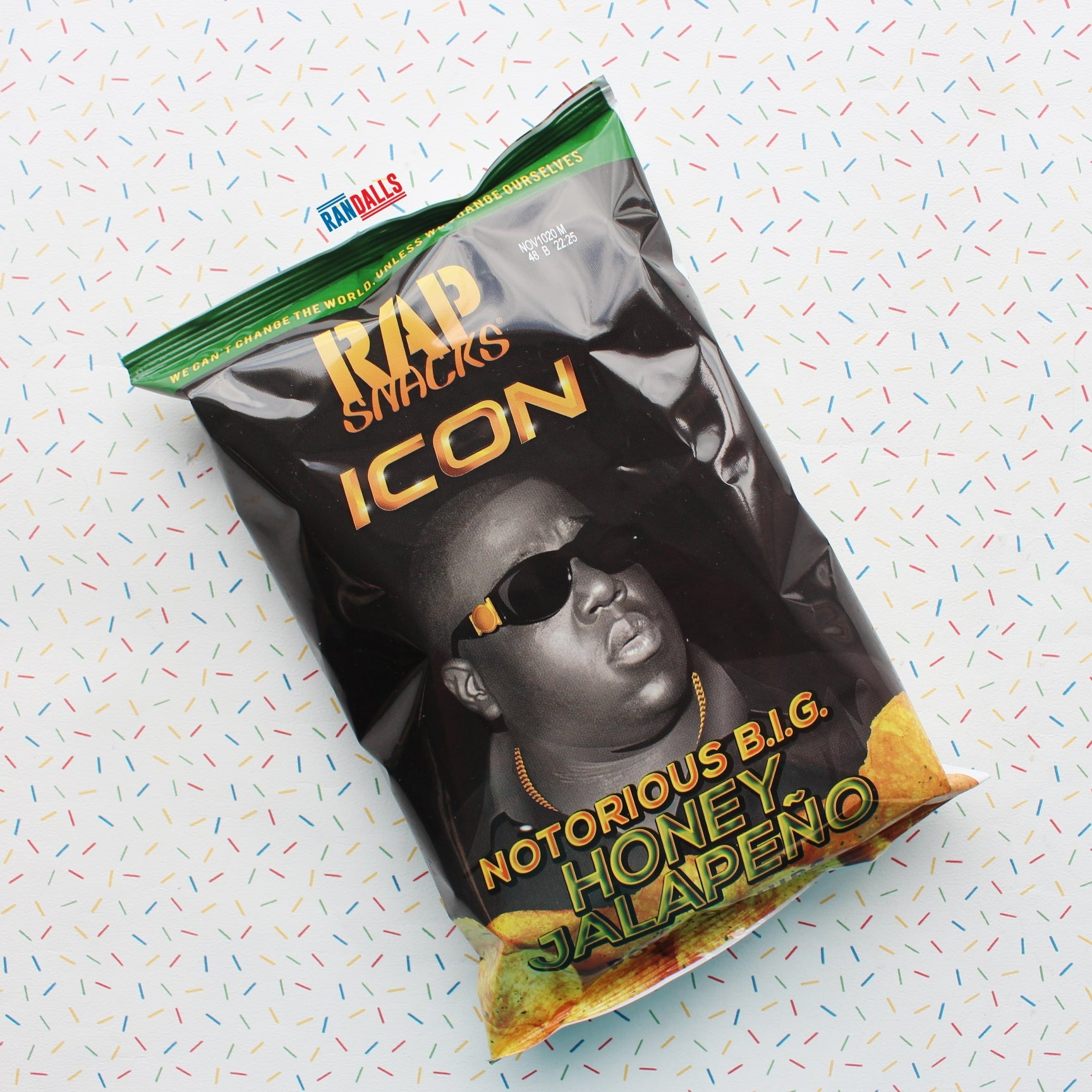 RAP SNACKS NOTORIOUS BIG - HONEY JALAPENO