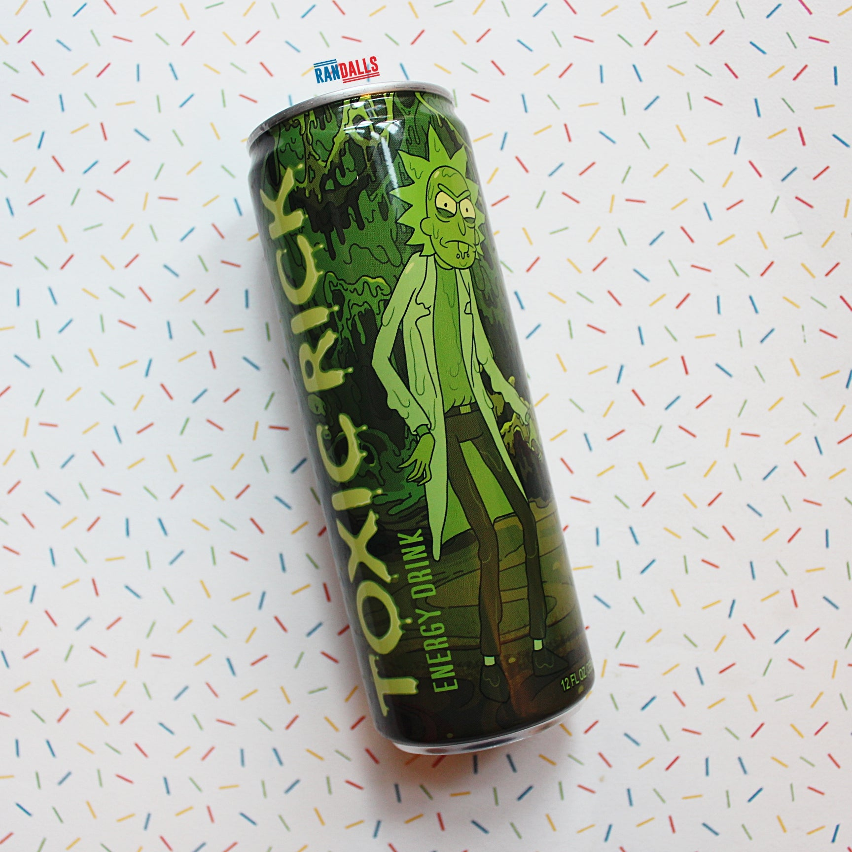RICK & MORTY TOXIC RICK ENERGY DRINK