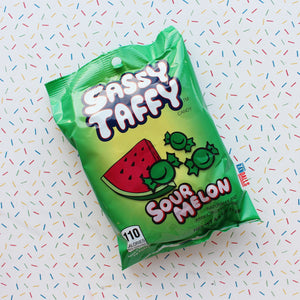 TAFFY TOWN SASSY TAFFY SOUR MELON BAG