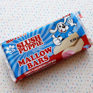 SLUSH PUPPIE CHERRY MALLOW BARS - BOX OF 6
