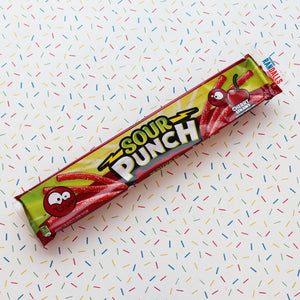 SOUR PUNCH CHERRY STRAWS