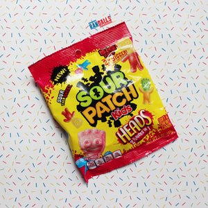 SOUR PATCH KIDS HEADS PEG BAG