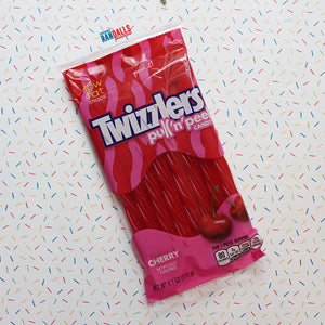 TWIZZLERS CHERRY PEG BAG