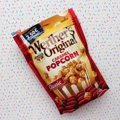 WERTHERS CARAMEL POPCORN (GERMANY)