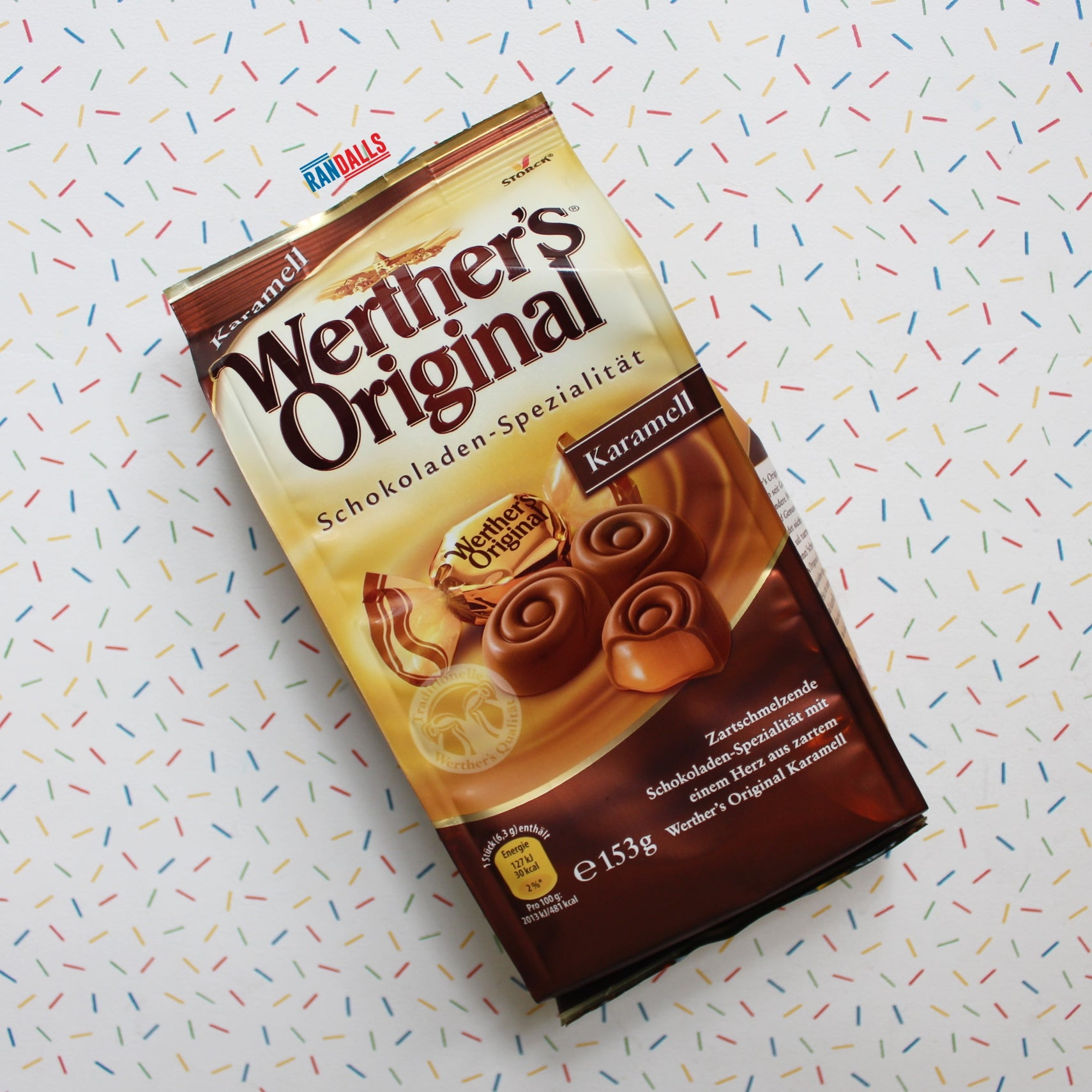 WERTHERS CHOCOLATE CARAMELTS