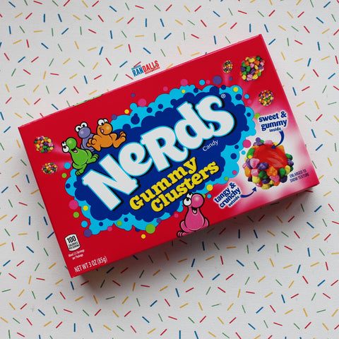 WONKA NERDS GUMMY CLUSTERS BOX