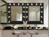 Hollywood Vanity Mirror - Matte Black