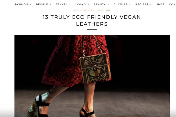 Laura Zabo in Ethical magazine